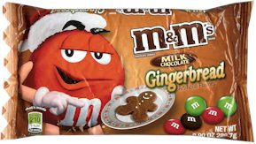 Gingerbread M&M's